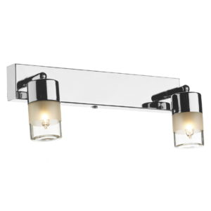 Artemis Double Wall Bracket Polished Chrome IP44
