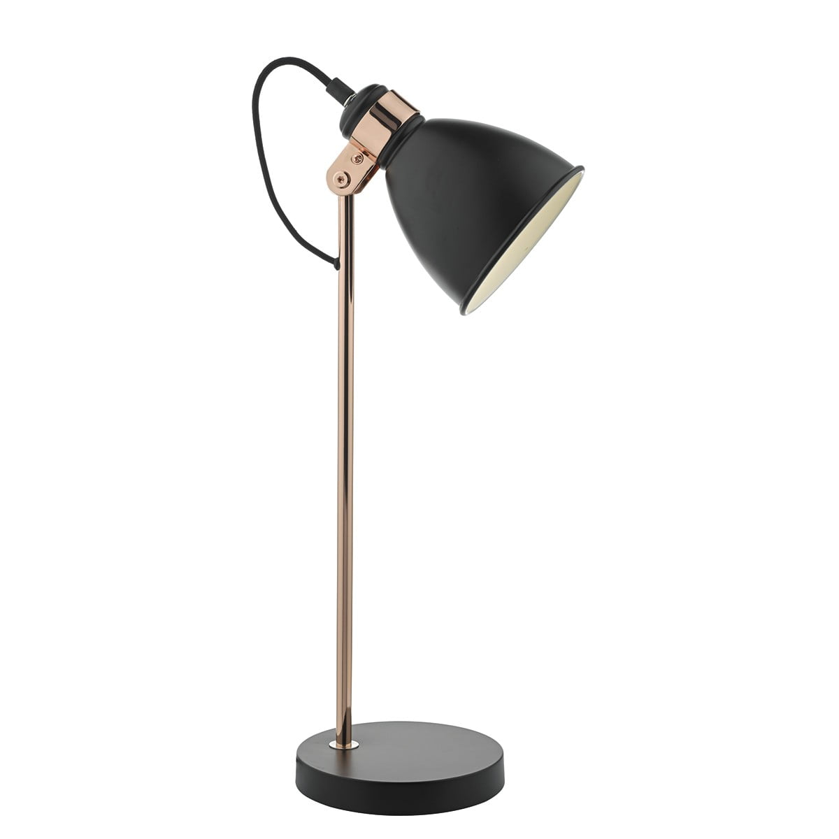 Frederick Table Lamp Black/ Copper
