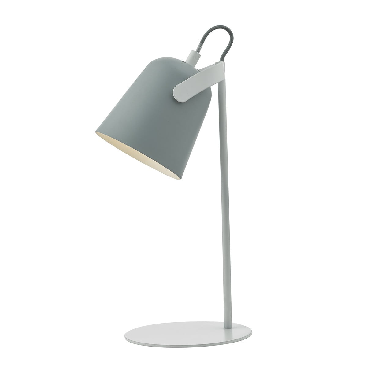 Effie Table Lamp Grey White